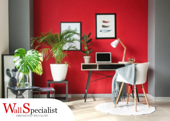 Pareti color rosso: donare passione alla casa